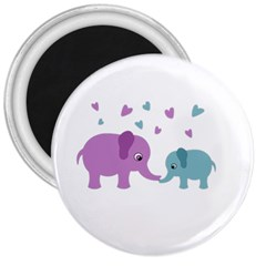 Elephant love 3  Magnets