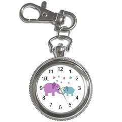 Elephant love Key Chain Watches