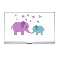 Elephant love Business Card Holders