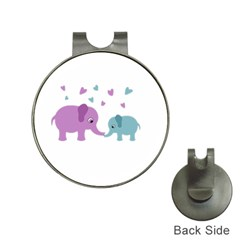 Elephant love Hat Clips with Golf Markers