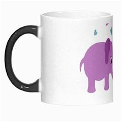 Elephant love Morph Mugs