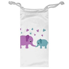 Elephant love Jewelry Bag