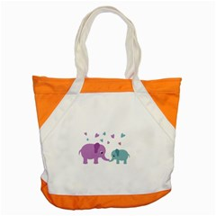 Elephant love Accent Tote Bag