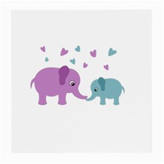 Elephant love Medium Glasses Cloth (2-Side)