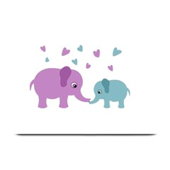 Elephant love Plate Mats