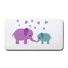 Elephant love Medium Bar Mats