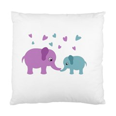 Elephant love Standard Cushion Case (Two Sides)