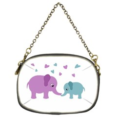 Elephant love Chain Purses (Two Sides)