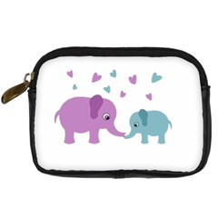 Elephant love Digital Camera Cases