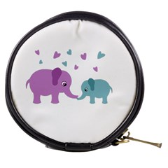 Elephant love Mini Makeup Bags