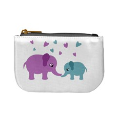 Elephant love Mini Coin Purses