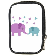 Elephant love Compact Camera Cases