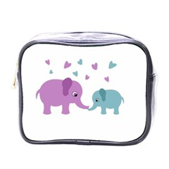 Elephant love Mini Toiletries Bags