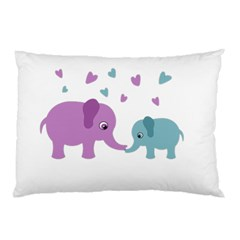 Elephant love Pillow Case (Two Sides)