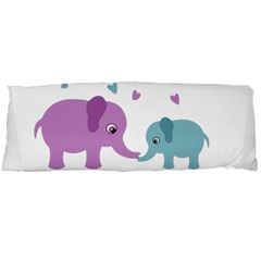 Elephant love Body Pillow Case (Dakimakura)