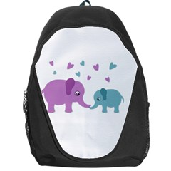 Elephant love Backpack Bag