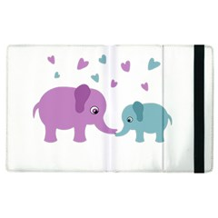 Elephant love Apple iPad 3/4 Flip Case
