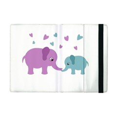 Elephant love Apple iPad Mini Flip Case