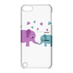 Elephant love Apple iPod Touch 5 Hardshell Case with Stand