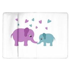 Elephant love Samsung Galaxy Tab 10.1  P7500 Flip Case