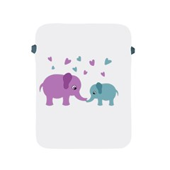 Elephant love Apple iPad 2/3/4 Protective Soft Cases