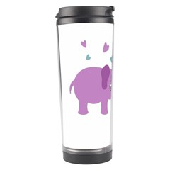 Elephant love Travel Tumbler