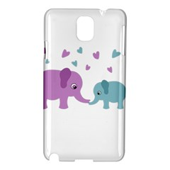 Elephant love Samsung Galaxy Note 3 N9005 Hardshell Case