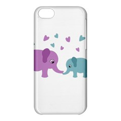 Elephant love Apple iPhone 5C Hardshell Case