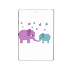 Elephant love iPad Mini 2 Hardshell Cases