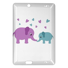 Elephant love Amazon Kindle Fire HD (2013) Hardshell Case