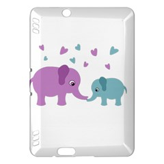 Elephant love Kindle Fire HDX Hardshell Case