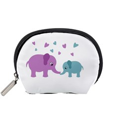 Elephant love Accessory Pouches (Small)