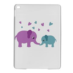 Elephant love iPad Air 2 Hardshell Cases