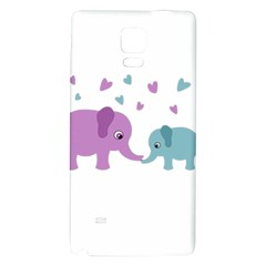 Elephant love Galaxy Note 4 Back Case