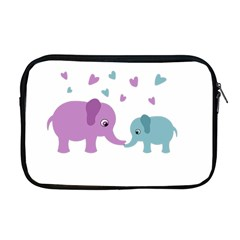 Elephant love Apple MacBook Pro 17  Zipper Case
