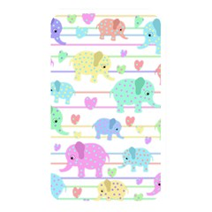 Elephant pastel pattern Memory Card Reader