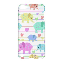 Elephant pastel pattern Apple iPod Touch 5 Hardshell Case