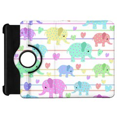 Elephant pastel pattern Kindle Fire HD 7