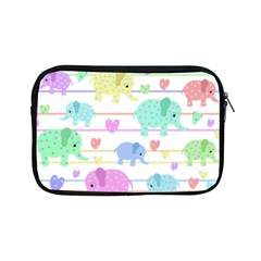 Elephant pastel pattern Apple iPad Mini Zipper Cases