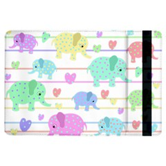 Elephant pastel pattern iPad Air Flip