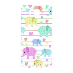 Elephant pastel pattern Samsung Galaxy Alpha Hardshell Back Case