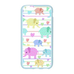 Elephant pastel pattern Apple Seamless iPhone 6/6S Case (Color)