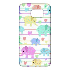 Elephant pastel pattern Galaxy S6