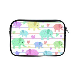 Elephant pastel pattern Apple MacBook Pro 13  Zipper Case