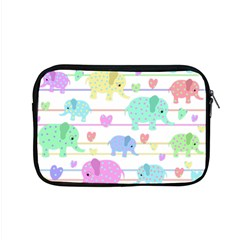Elephant pastel pattern Apple MacBook Pro 15  Zipper Case