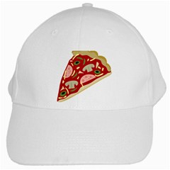Pizza slice White Cap