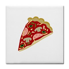 Pizza slice Tile Coasters