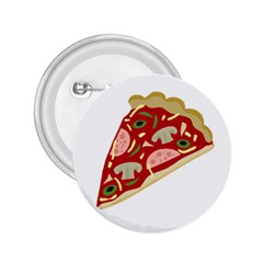 Pizza slice 2.25  Buttons