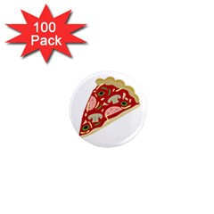 Pizza slice 1  Mini Magnets (100 pack)