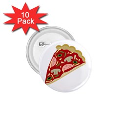 Pizza slice 1.75  Buttons (10 pack)